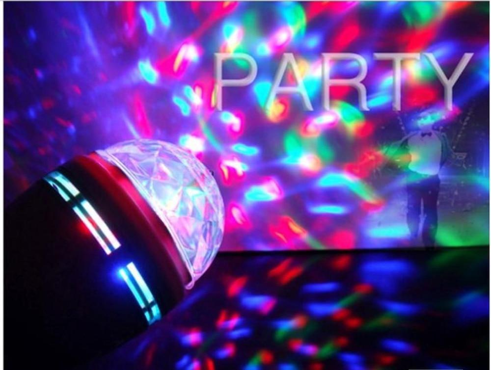 Led Crystal Magic Ball Lighting Laser Karaoke Ktv Light