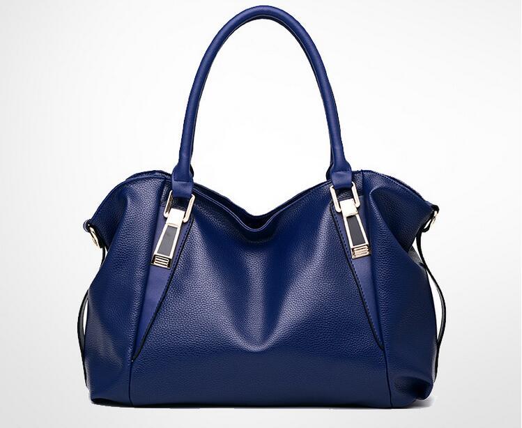 100% Genuine leather Women handbags 2017New bag ladies classic casual  fashion handbag Crossbody Bag female soft hand bill lading-in Top-Handle  Bags from ... 676c9edadb62