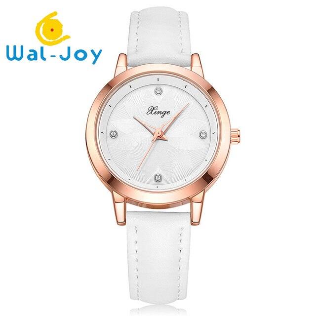 c8eaf234a6bb6 Wal-Joy 2018 High Quality Women Watch Minimalist Crystal Watch Waterproof  Creative Flower Dial Watches Ladies Quartz Watches Hot