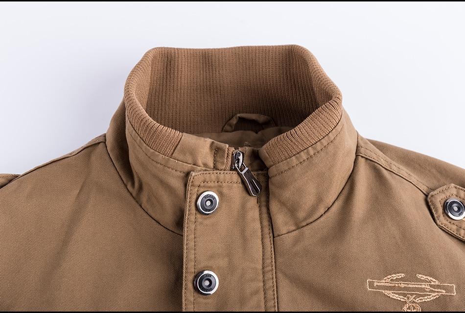 77City Killer Autumn Winter Military Tactical Jacket Men Plus Size 5XL 6XL Cotton Bomber Jackets Cargo Flight Jacket Outwear