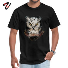 цена на Unique Men T Shirt owls are not what they seem Tees Geek Marseille Messi Gift TShirt Simple Style Top T-shirts Wholesale Clothes