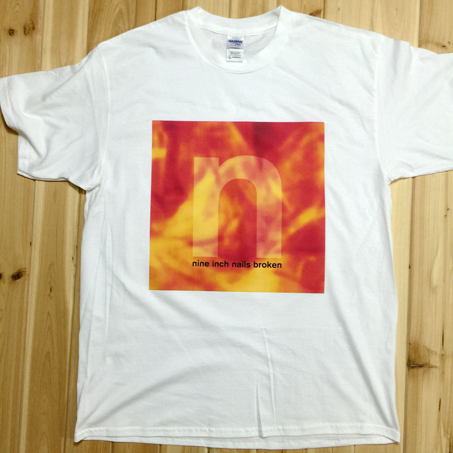 Aliexpress.com : Buy Nine Inch Nails Broken Rock Music Band CD T ...