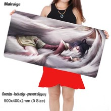 League of Legend 900*400mm Laptop Gaming Mouse Pad Locking Edge Mousepad Mat for LOL Dota2 CS Mouse Mice Pad for Game Player