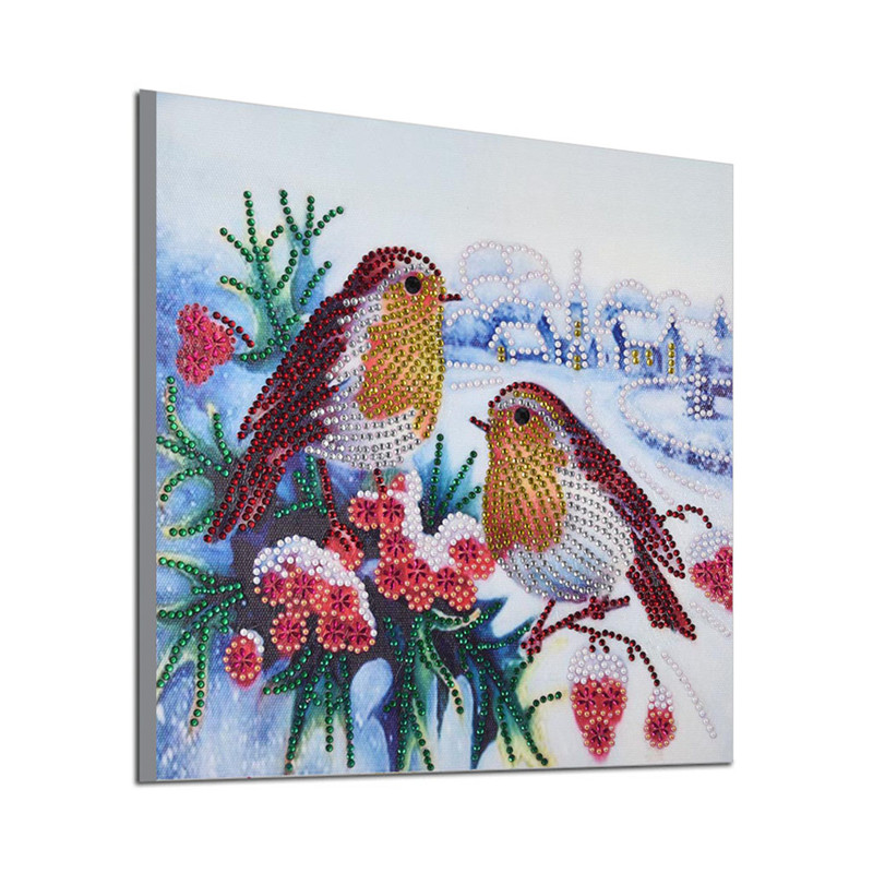5d Special Shaped Diamond Painting Animals Bird Partial Drilled Diamond Embroidery DIY Rhinestone Art Crafts Home Decor Picture in Diamond Painting Cross Stitch from Home Garden