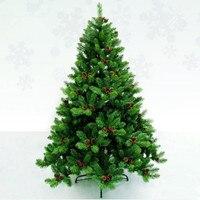 1.8 m / 180cm luxury encryption Christmas tree pine cones pine cones Christmas essential Mall Garden Hotel