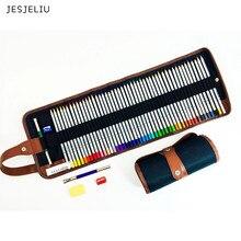 Organizer Pouch Pencils-Case Storage-Bag Sketch-Holder Canvas for 48pcs 36pcs 1pc