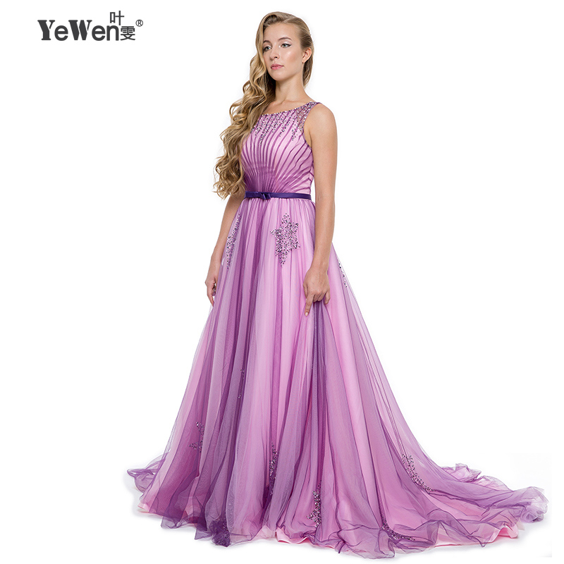 purple Tank Backless Beading plus size Foraml gowns dresses prices ...