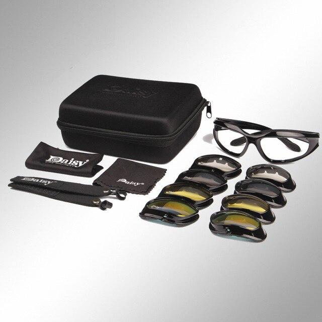 Prix pour Désert lunettes de Soleil Tactique Chasse Lunettes Sports de Plein Air Airsoft Lunettes UV400 Lunettes