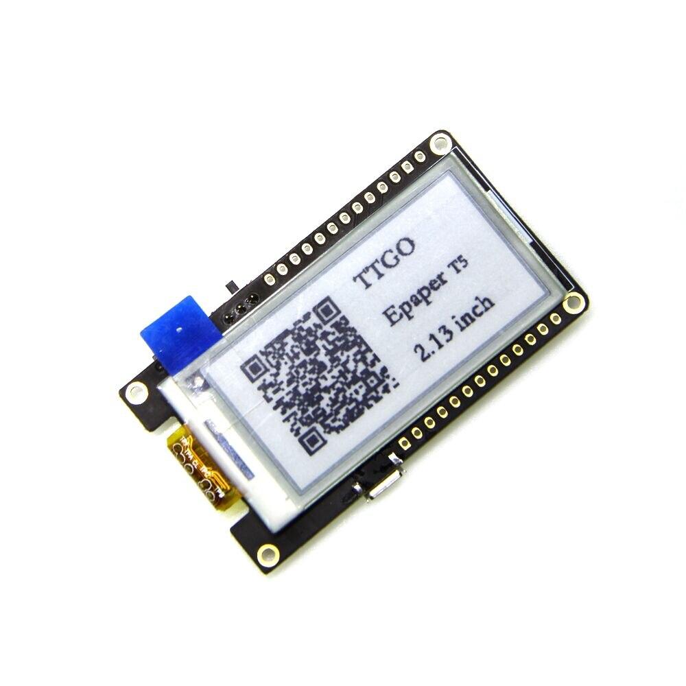 T5 V2.0 TTGO WiFi Sans Fil Module Bluetooth Base ESP-32 ESP32 2.13 ePaper Affichage Conseil de Développement