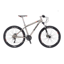SAVA 27.5 / 26 inch MTB Mountain Bike SHIMANO M610 30 Speed Titanium Alloy Frame Double Disc Brake Hydraulic Suspension Fork