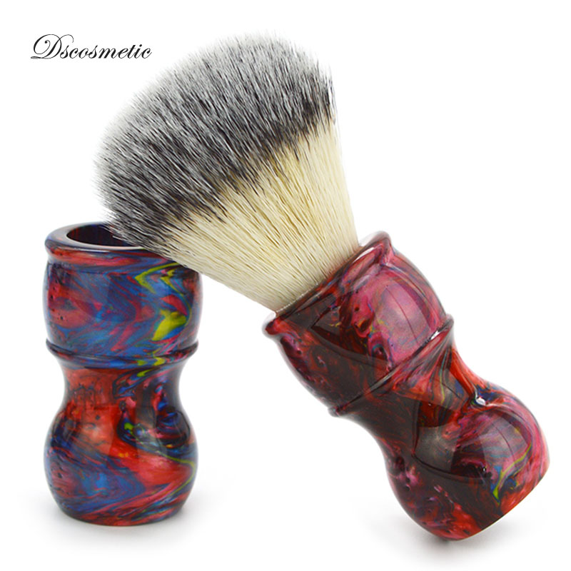 Dscosmetic 26mm Synthetic Hair Galaxy Resin Handle Shaving Brush