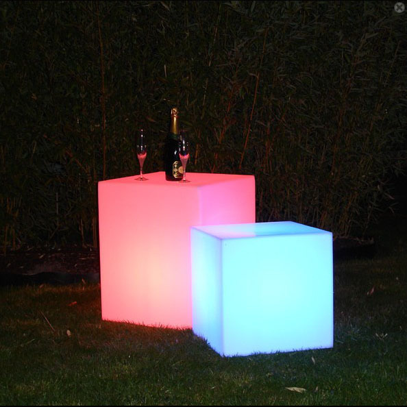 D30cm lighted led cube waterproof led ice cube lighting color changing 120mm Opener Skybess factory sale 4pcs/Lot