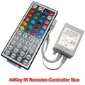 44 Teclas de Control Remoto Llevó el Regulador Del IR RGB Controler Luces LED IR controlador Remoto Dimmer Para RGB SMD 3528 5050 LED tira