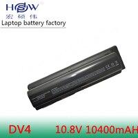HSW 10400MAH laptop Battery For HP Compaq Presario CQ40 CQ45 CQ50 G50 G61 G71 HDX16 Pavilion dv4 dv5 dv5t dv6 dv6t dv6z G60 G70