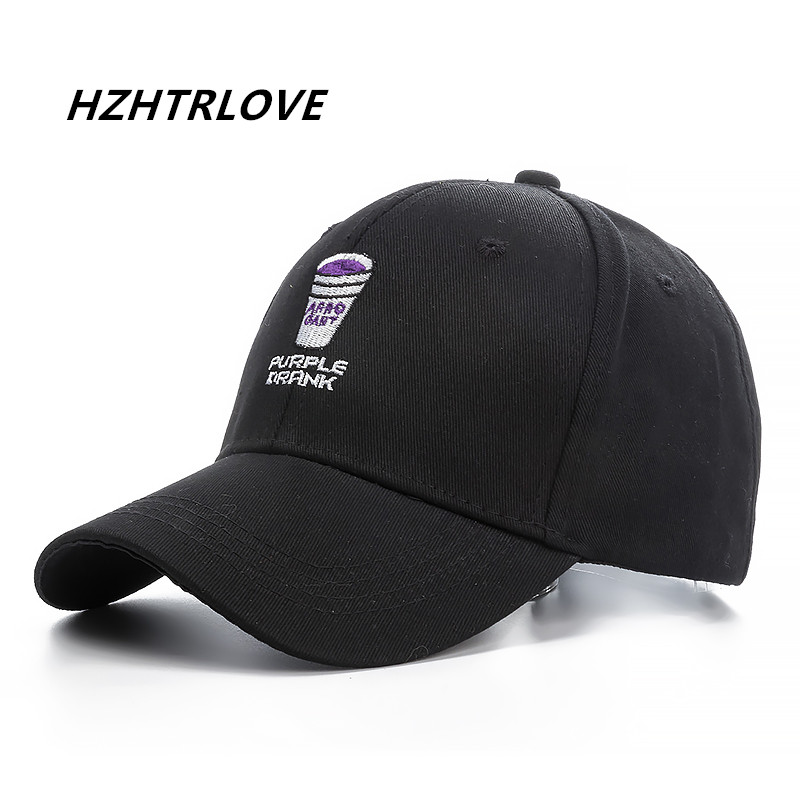 High Quality Brand Purple Drank Snapback   Cap   Cotton   Baseball     Cap   For Men Women Adjustable Hip Hop Dad Hat Bone Garros
