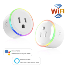 цены на Smart Plug WiFi Remote Control US Outlet Switch with Alexa Timing on/off The Power Google Home US Smart Socket Smart Life  в интернет-магазинах