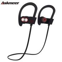 Askmeer V5 Zestaw Głośnomówiący Zestaw Słuchawkowy Bluetooth Słuchawkom Blue tooth Słuchawki Zaczep Na Ucho Bezprzewodowe Sport Running Słuchawki Z Mikrofonem dla Telefonu