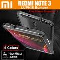 "Redmi note 3 pro parachoques original luphie increíble muy oxidada marco del metal de aluminio para xiaomi redmi note3 case duro 5.5 ""primer"