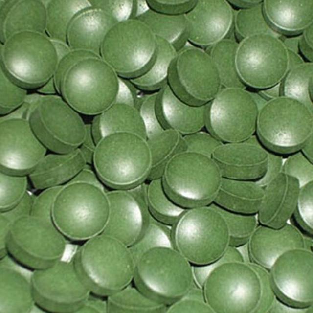 Comprimido Spirulina orgânica 1000 pcs x 250 mg Melhorar-imunidade frete grátis