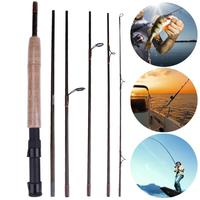 2 3M 7Section M High Carbon Power Carbon Fiber Spinning Casting Travel Lure Fishing Rod