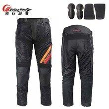 SUMMER Mesh Fabric Riding Tribe HP-10 motorcycle pants men with knee hip pad,  Moto motocross trousers  M L XL XXL XXXL