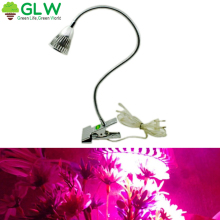 5W Plant Grow Light  Outdoor Lamp Hydroponic Greenhouse Chip Table Garden Lighting LED Full Spectrum