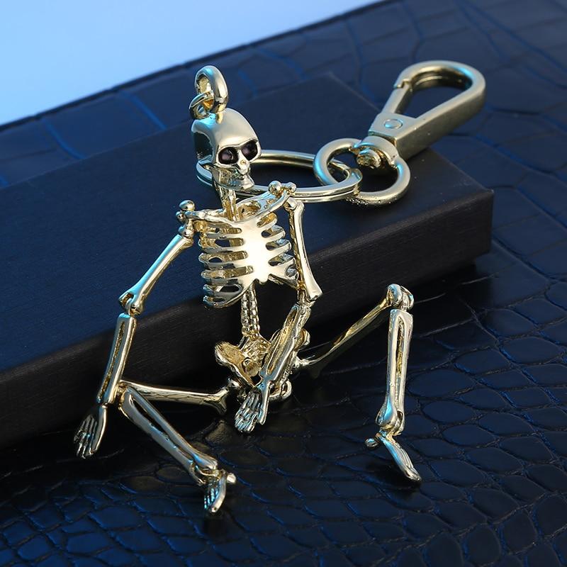 Keychain κρανίο για τους άνδρες - Κοσμήματα μόδας - Φωτογραφία 2
