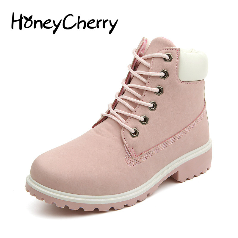 Winter Single Boots Women Shoes ankle Boots, Martin Boots warm shoes flats boot women shos