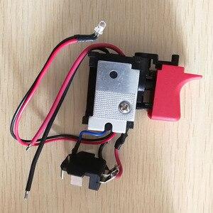 Image 5 - DL2A/2 GSB120 LI pièces de loutil de commutation 2609125169 commutateur de régulation de vitesse électronique pour bosch 3601JF3081 perceuse électrique tournevis