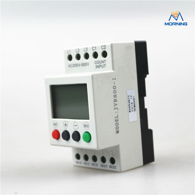 JVR800-1 Multifunction 3-phase and sequence/Overvoltage/Undervoltage Monitoring relay with counting and timing тестер агрессор agr test 21 цифровой 2в1 жк дисплей акб генератора