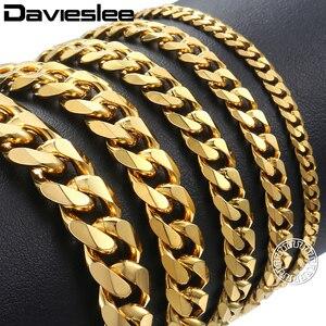 Davieslee Mens Bracelet Chain