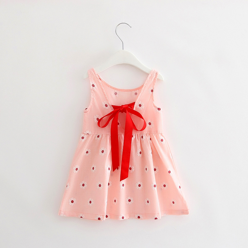 0e4b280865 Baby Girl Dress 2018 Summer Baby Kid Children Cotton Princess Girls Dress  Infant Sundress Clothes Cute Baby Girl Clothing