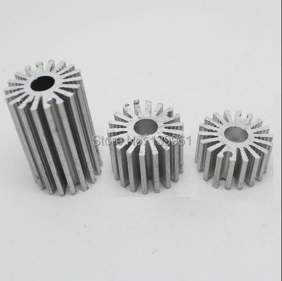 50pcs x <font><b>Led</b></font> <font><b>heatsinks</b></font> for <font><b>1W</b></font> High power <font><b>Leds</b></font>-- Height 15mm image