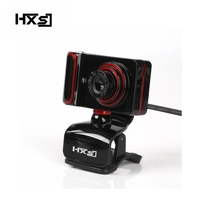 HXSJ S10 16M pixels HD Webcam USB Web Cam Computer PC Webcam with Special Effects LED Night Version High Definition Images