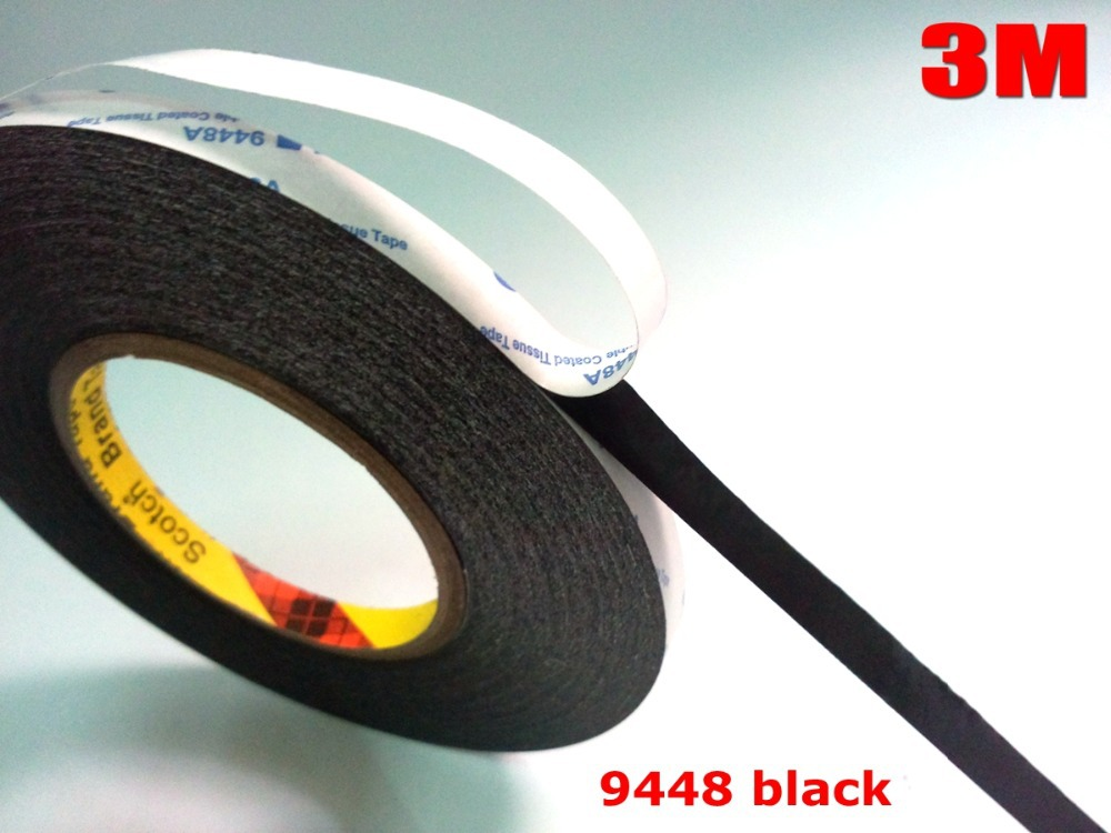 black masking tape 3m