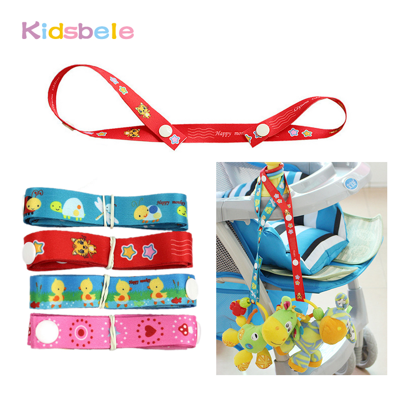 Soft Crib Toys : Strap for hanging soft rattle mobiles toy babies