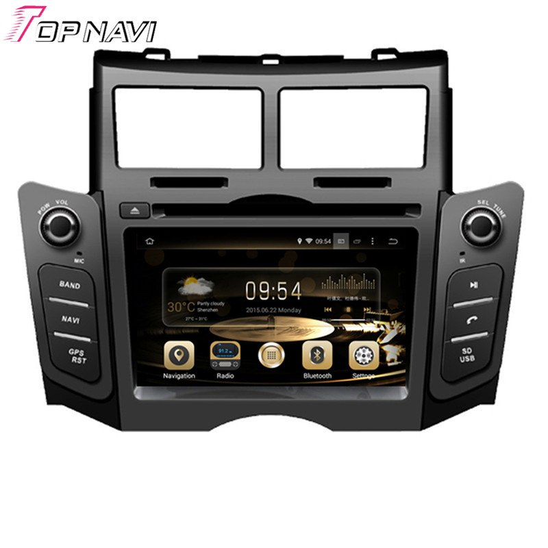 6 2 39 39 quad core android 5 1 car radio for toyota yaris. Black Bedroom Furniture Sets. Home Design Ideas