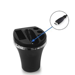 Image 3 - Schwarz Farbe Auto Ladegerät Für Iqos 3 Ladegerät Mit Typ C Port Für Iqos 3,0 Universal Ladegerät