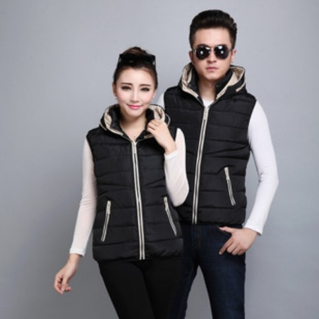 2016 autumn Winter new Korean Slim Down cotton hot sale Men fertilizer to increase thickening spell color vest cheap wholesale