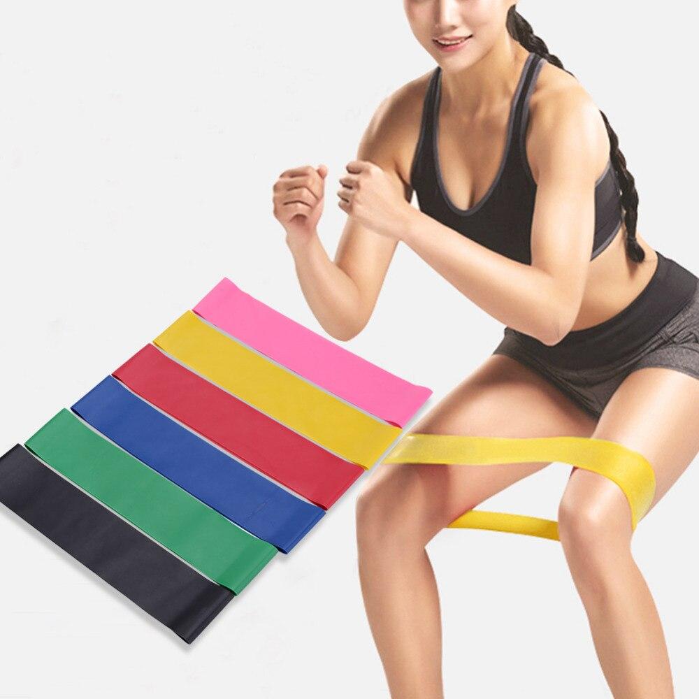 Fitness Stretching Belt Elastic Exercise Resistance Bands Training  Arm And Waist Leg Training  strength training