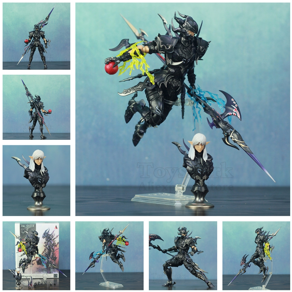 """NEW IN BOX Final Fantasy XIV FF14 DRAGOON 7"""" Scale Action Figure KOs Bring Arts Estee two-Anne PVC Painted Doll Toys Collectible"""