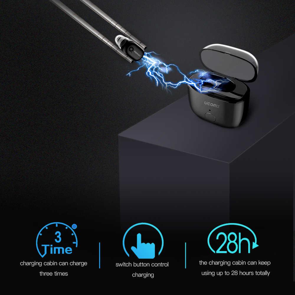 TCunPT Мини Bluetooth наушники Беспроводной наушники гарнитура наушники Handsfree невидимые наушники-капли для iPhone xiaomi huawei телефон