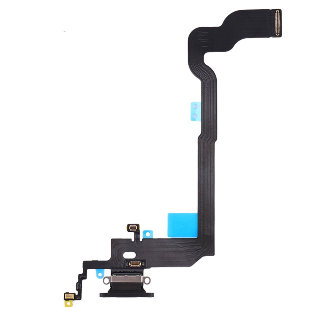for <font><b>iPhone</b></font> X A1901 <font><b>A1865</b></font> Replacement Charger Charging Port USB Connector Dock Microphone Headphone Audio Jack Ribbon Flex Cable image
