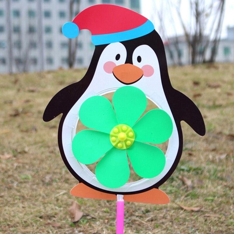 DemüTigen Chinesische Sternzeichen Wind Spinner Windmühle Nette Cartoon Tier Winnower Kinder Spielzeug