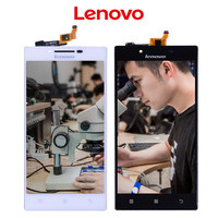 Original Brand Black TFT IPS 1280x720 LCD For LENOVO P70 P70 T P70T Display With Touch