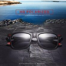 AMISUV Polarized Sunglasses Men Women Classic Rivet Square Frame Sun glasse for Men Driving Vintage Brand Designer Goggles UV400