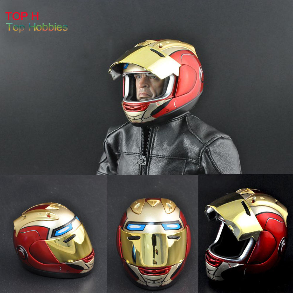 ZY 15-6 Red 1/6 Scale Motorcycle Motorbike Helmet Model Visor for Sideshow Hot Toys Head Sculpt ld7530pl ld7530 sot23 6