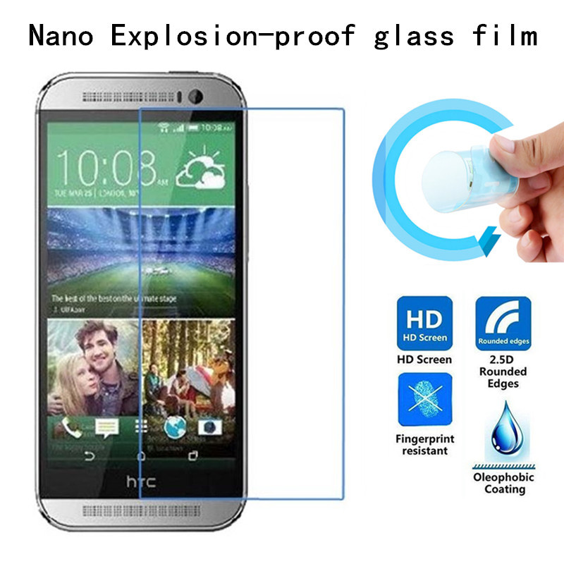 Soft Explosion-proof Nano Protection Film Foil for HTC <font><b>M8</b></font> MINI/one mini 2 Screen Protector Not Tempered Glass