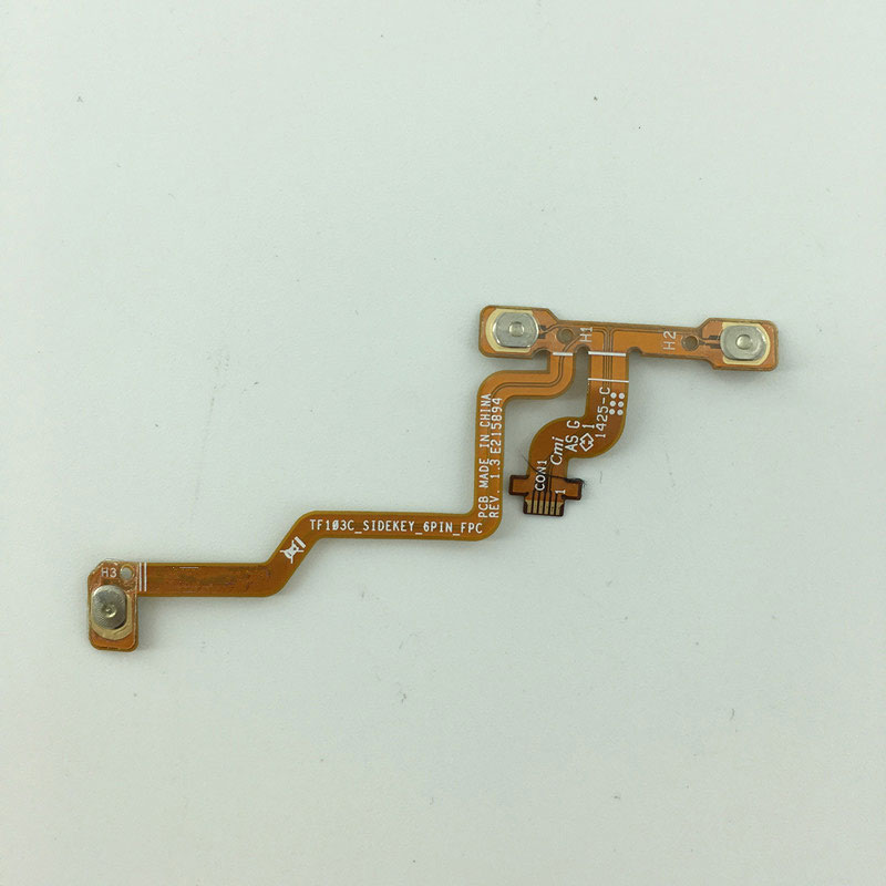 Switch On Off Volume Button Key Switch Flex Cable Ribbon Replacement For ASUS ME103 TF103C_SIDEKEY_6PIN_FPC ME103CG TF103CG