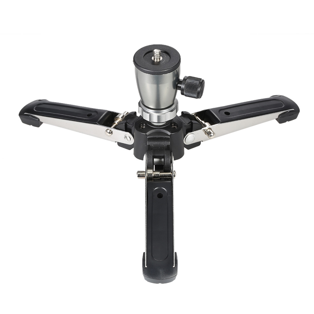 Consumer Electronics Competent Portable 1/4 Screw 3 Legs 3 Feet Tripod Monopod Unipod Base Stand Holder Support For Canon Nikon Sony Dslr Cameras